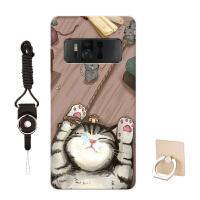 华硕ZenFone AR手机壳ZS571KL保护套ZS572KL卡通软来图定制女款