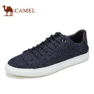 camel骆驼男鞋 夏季时尚休闲潮鞋 滑板鞋系带鞋休闲鞋