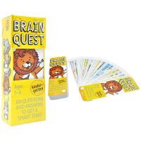 Brain Quest Kindergarten 美国全科智力问答卡片 大脑任务 bq问答卡 幼儿园 5-6岁 教育启