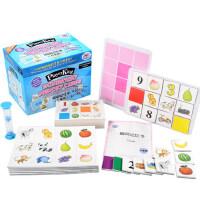 儿童瞬间记忆卡早教闪卡宫格板右脑开发教具记忆力专注力训练玩具