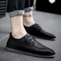 2019新款男鞋春季休闲鞋男韩版潮流男士鞋子青年皮鞋英伦百搭潮鞋