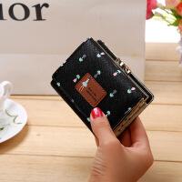 便携迷你零钱包硬币包新款 新款钱包折女士钱夹短款可爱小零钱包女韩版