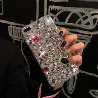 XSMAX手机壳iphone8个性苹果XR女款7plus带钻iphone6网红6splus新款带挂绳 【 6/6s】彩