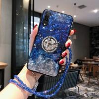 华为p30手机壳p20pro硅胶防摔软壳p20奢华保护套nova3简约个性创意nova4全包边3i保 p20 蓝银拼接