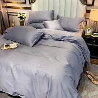 床上四件套60支长绒棉欧式被套床笠网红款床上用品纯棉床单四件套