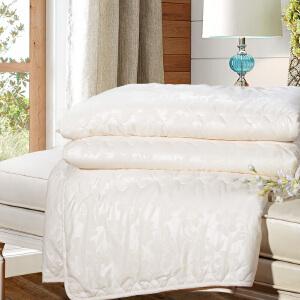 [当当自营]富安娜家纺床上用品夏被空调被夏凉被 婉安空调被-浅黄 1.8床(230*229cm)