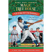 英文原版 神奇树屋29:棒球日 A Big Day for Baseball (Magic Tree House (R