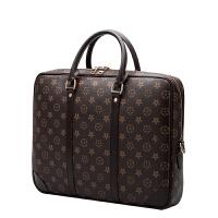 男女通用印花公文包女包手提包休闲男士商务包14寸15.6寸电脑包