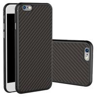 苹果iPhone6s/6Plus/7/7Plus手机壳碳纤维纹路硅胶防摔全包软潮男