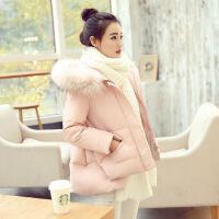加厚小棉袄女2018新款冬装韩版羽绒短款A字斗篷chic棉衣外套