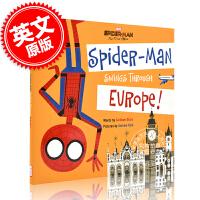 现货 蜘蛛侠:英雄远征 蜘蛛侠飞跃欧洲 英文原版 Spider-Man: Far From Home 同名电影儿童周边