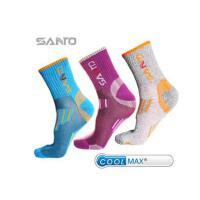 女士春秋户外登山跑步长袜骑行coolmax吸汗透气春秋袜 可礼品卡支付