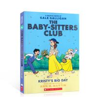 保姆俱乐部系列6 进口英文原版故事绘本The Baby-Sitters Club 6: Kristy's Big Da