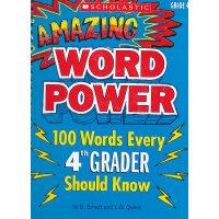 Amazing Word Power Grade 4 神奇词汇力量(4年级) ISBN9780545087070