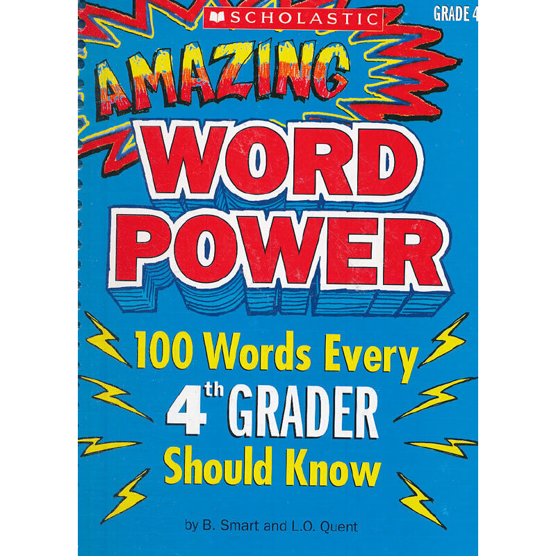 Amazing Word Power Grade 4 神奇词汇力量(4年级) ISBN9780545087070