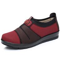 17春秋女鞋老北京布鞋单鞋中老年人女鞋妈妈鞋奶奶软底防滑老人鞋