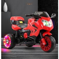儿童电动摩托车三轮车充电宝宝小孩遥控玩具车
