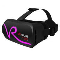 VR CASE VR虚拟现实3D眼镜触控式手机影院智能头戴式游戏头盔成人 粉色