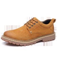 工装鞋男鞋工作鞋真皮皮鞋低帮增高鞋运动休闲鞋英伦风潮流时尚新