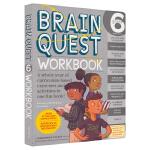 Brain Quest Workbook Grade 6 大脑任务 六年级问答教辅 bq练习册全科 儿童英文原版进口图