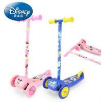 迪士尼儿童三轮滑板车迷你踏板车男女童玩具车小孩童车
