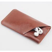 专用尺寸 华为手机壳nova5pro保护套 皮套双层收纳包袋 裸机版 黑色