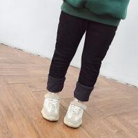 女童牛仔裤冬季牛仔裤小脚裤修身裤牛仔长裤