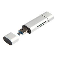 联想YOGA BOOK平板OTG线YB1-X90/1/F电脑Micro USB读卡器读TF/SD卡