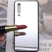 华为荣耀8x手机壳p30青春镜面v20带镜子p20女mate10pro潮nova4/3e 【 p30 】玻璃镜面