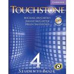 【预订】Touchstone Student's Book Level 4 [With CD-ROM/Audio CD