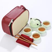 创意旅行功夫茶具户外方便携带收纳包便携式旅游生日会议礼品定制