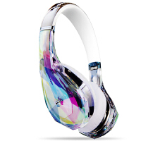 MONSTER/魔声 钻石之泪DiamondZ头戴式魔声耳机魔音耳机带麦 - 水晶白