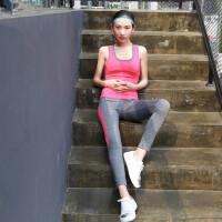 瑜伽服三件套装专业健身服女紧身显瘦运动跑步服