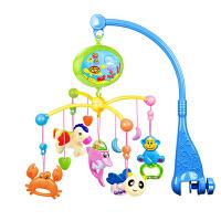 爱婴乐  床铃 新生婴儿0-1岁多功能摇铃投影音乐旋转宝宝床头铃床挂充电转转铃儿童玩具用品