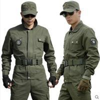 户外军迷军装套装男女季工作服特种兵迷彩服军训服作训服