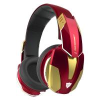 Disney迪士尼EBT910漫威钢铁侠正品头戴式蓝牙无线音乐游戏耳机