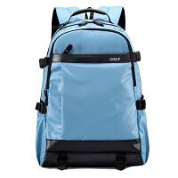 双肩包男背包休闲运动电脑包旅行包防水尼龙布包