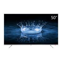TCL 50A860U 50英寸32核人工智能 超智慧 超薄4K 超高清电视机(银色)