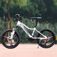儿童自行车20寸铝合金一体轮变速山地车男女孩小学生单车