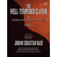 【预订】The Well-Tempered Clavier 48 Preludes and Fugues Book I