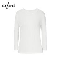 【商场同款】伊芙丽春装新款毛针织衫1180215230041