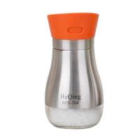 家用不锈钢调味瓶罐套装调料瓶调料罐玻璃盐罐调料盒厨房
