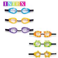 INTEX 趣味泳镜 儿童防水镜 游泳眼镜 游泳镜 水上用品 儿童泳镜55603 游泳眼镜 泳具 潜水镜 游泳眼镜