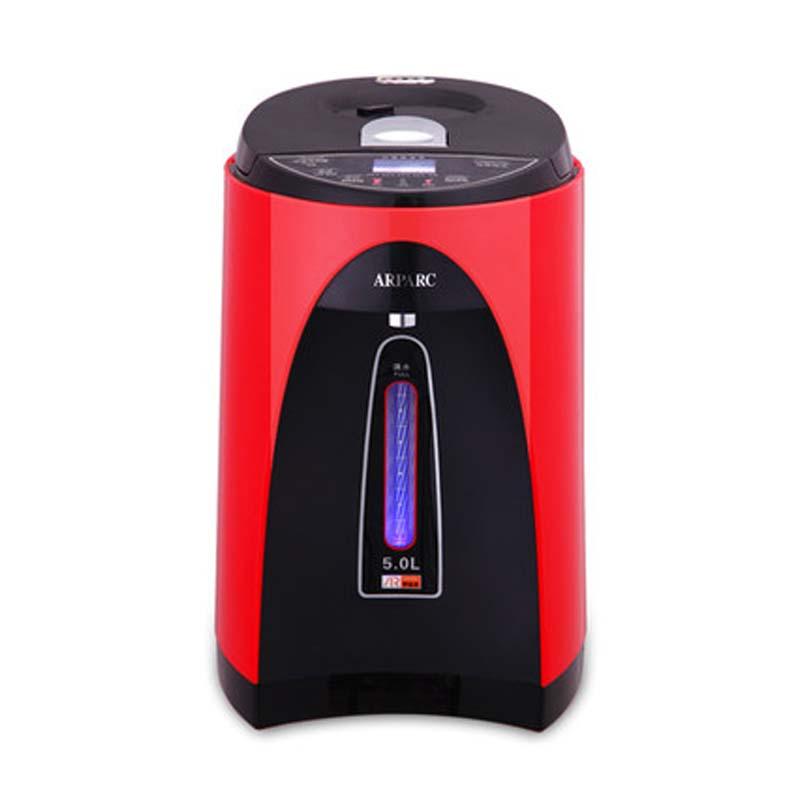 0电热水瓶保温5L家用不锈钢烧水壶电热水壶