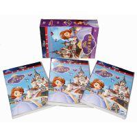 原装正版 小公主苏菲亚动画片全集6DVD光盘碟片 高清视频 中英双语