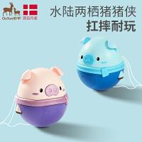 0-1岁儿童早教玩具女孩3-6个月大号男孩礼物小猪摆件