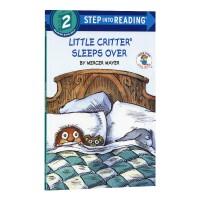 小毛人借宿记 兰登2阶英文原版 Little Critter Sleeps Over
