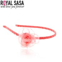 皇家莎莎RoyalSaSa流行发箍头饰盘发压头箍日韩饰品女士花朵可爱萝卜时尚发饰