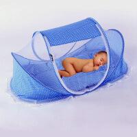 夏季儿童蚊帐 婴儿床蚊帐可折叠小孩蒙古包蚊帐