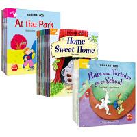 全3套 培生幼儿英语基础级预备级提高级 幼儿英语3启蒙故事图画绘本书籍 共101本 5-6-7岁儿童英语阅读教材书籍附英式发音CD